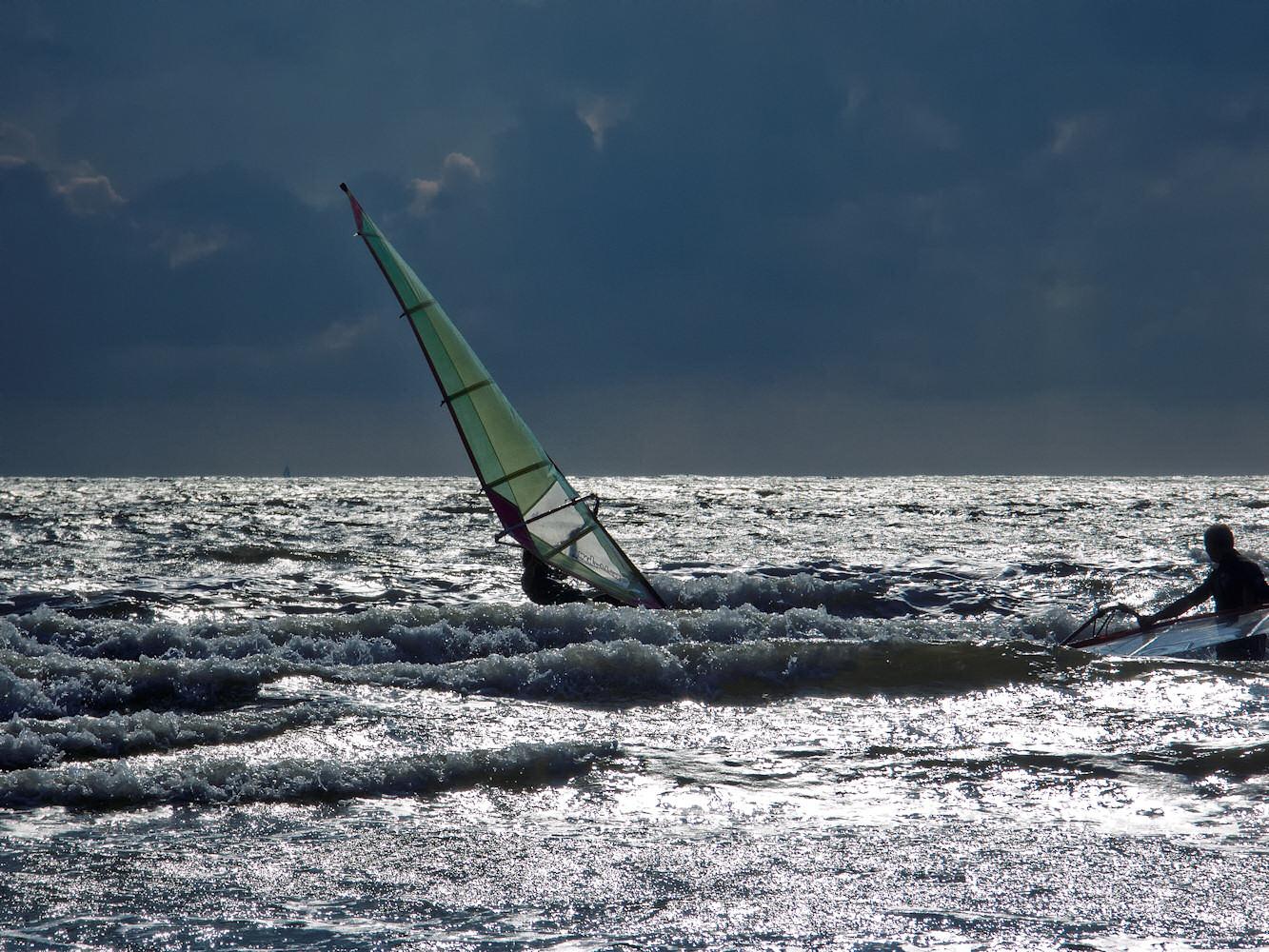 Surfen vorm Gewitter