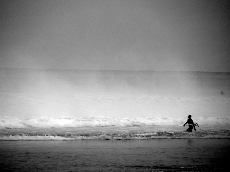 Surfer at Biaritz