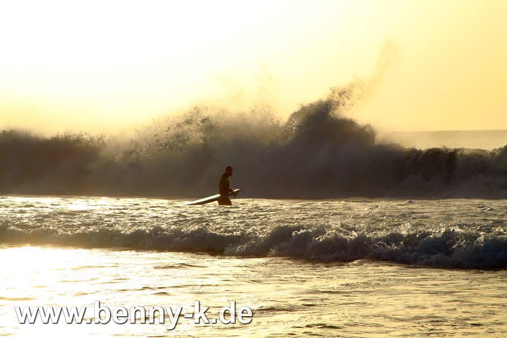 Surfer auf Fuerteventura