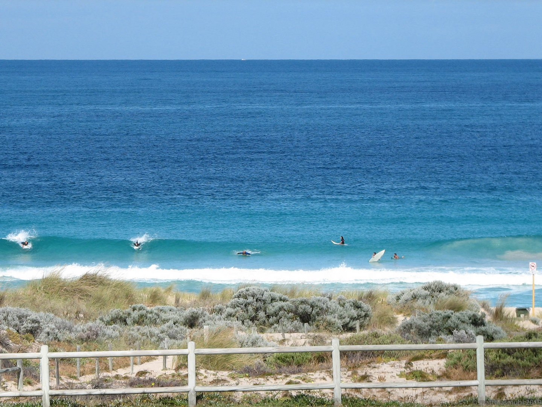Surfer in Perth Australien