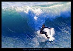 Surfer in Surf City No.1