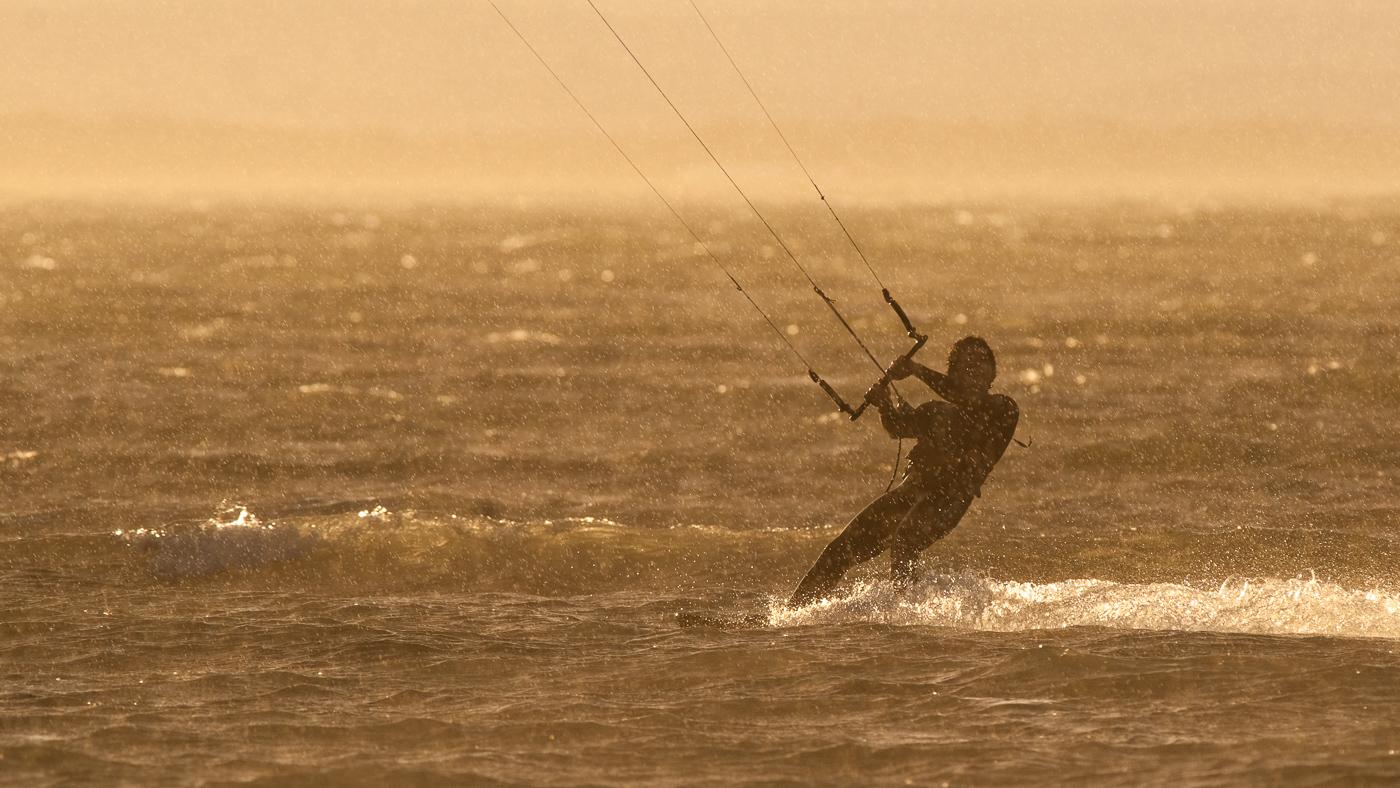 surfin' in the rain
