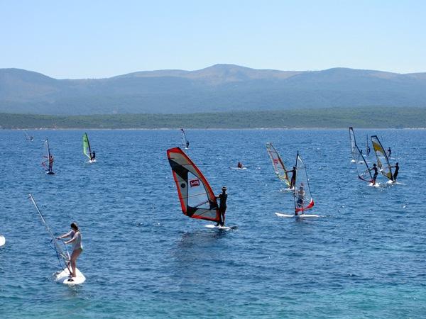 Surfing in Croatia