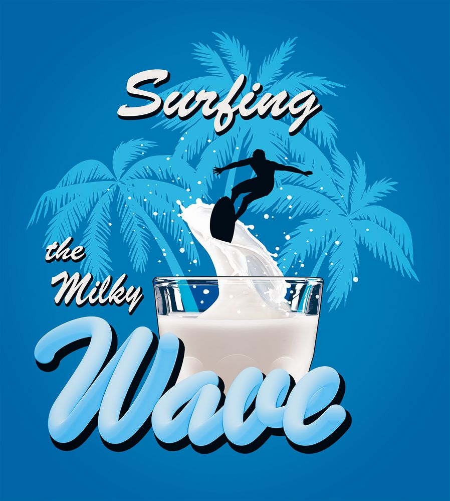 Surfing The Milky Wave