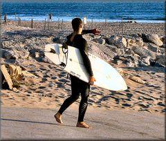 ...surfista fine serata...