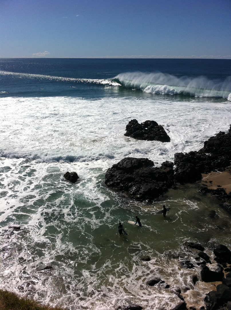 Surf's up..