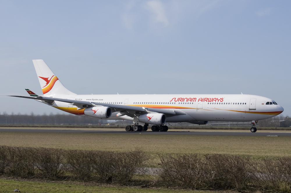 Surinam Airways - Airbus A340-311