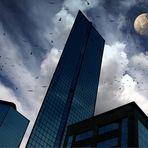 Surrealismo - Dove volano i pipistrelli - Centro Direzionale di Napoli -