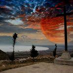 Surrealismo -Francesco Margarita    - L'ombra del tramonto -