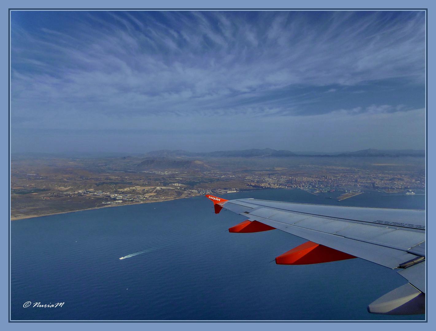 Survol d'Alicante