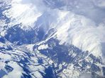 Survol des Alpes .