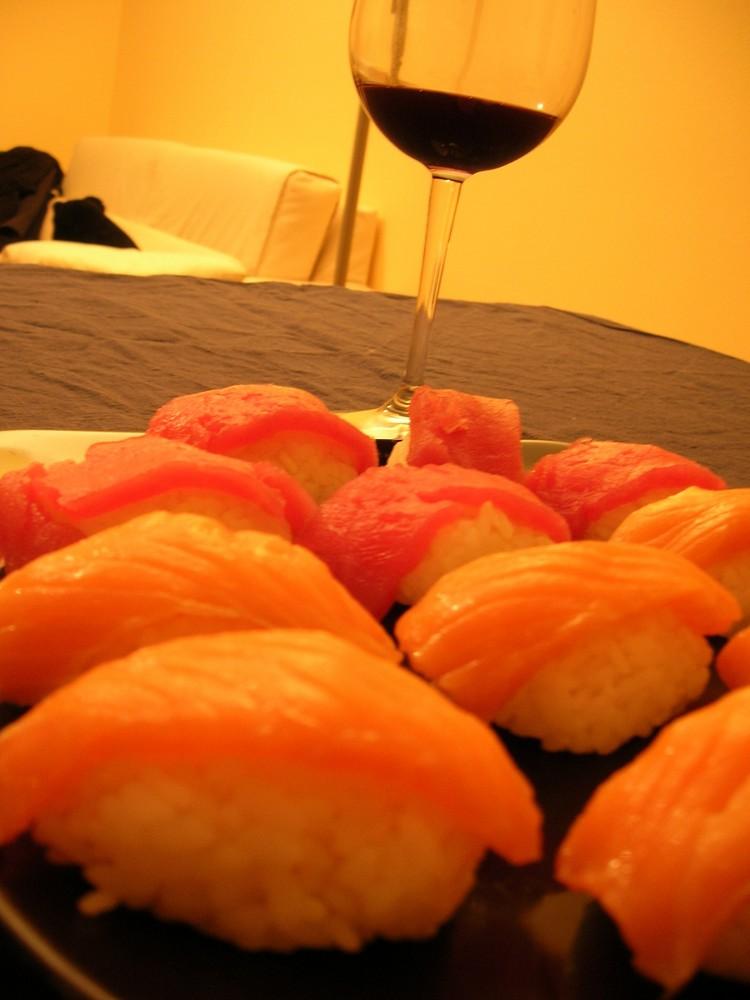 sushi ad halloween