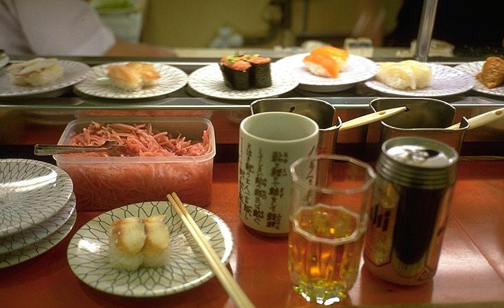 Sushi vom Band