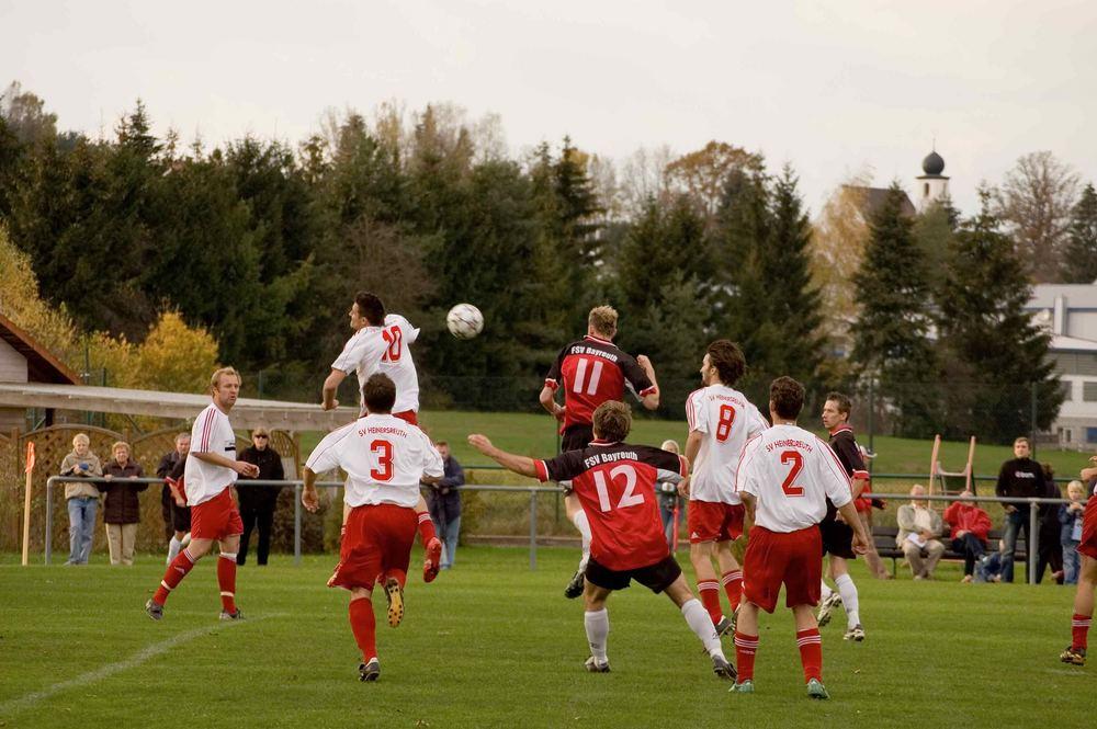 SV Heinersreuth vs. FSV Bayreuth 0:2