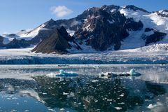 Svalbard  -  Gletscher im Westen