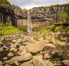 Svartifoss im Nationalpark Skaftafell
