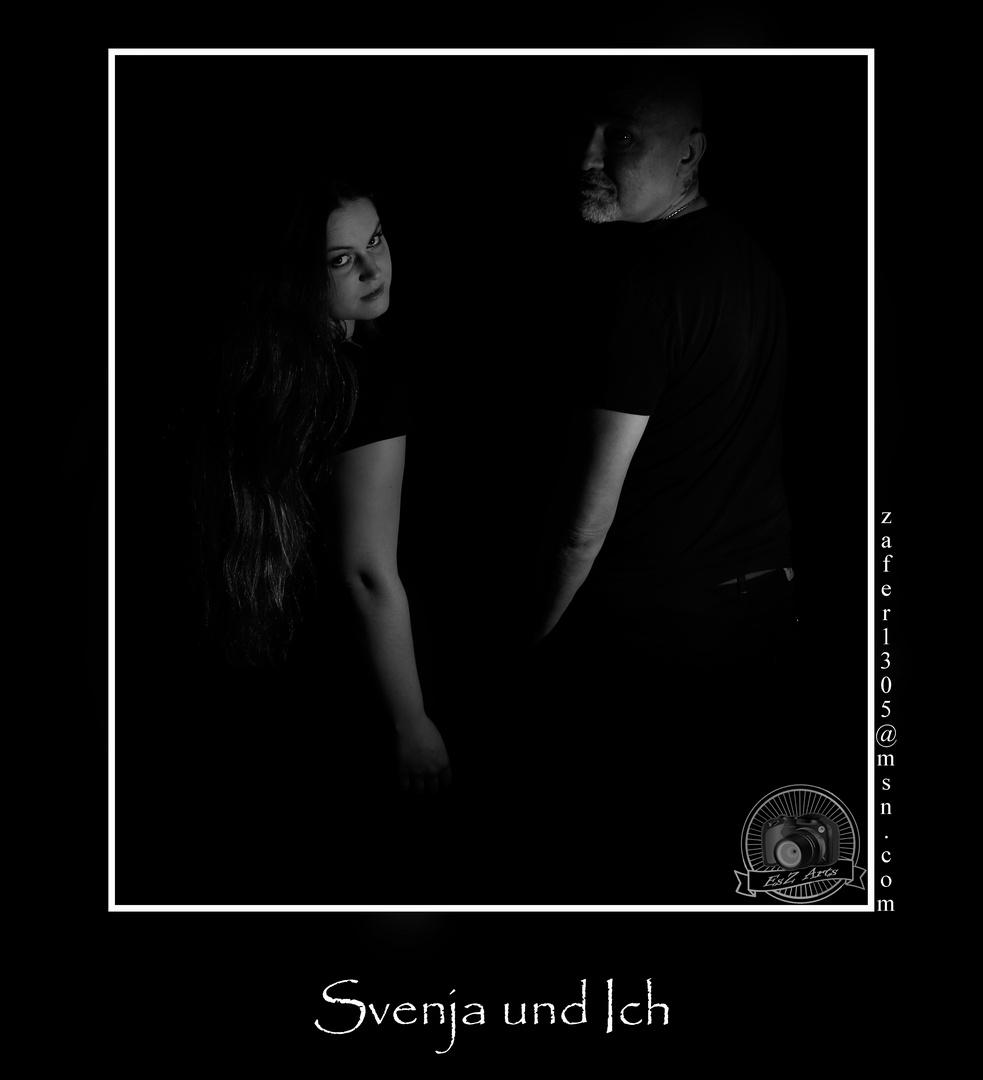 Svenja und ich
