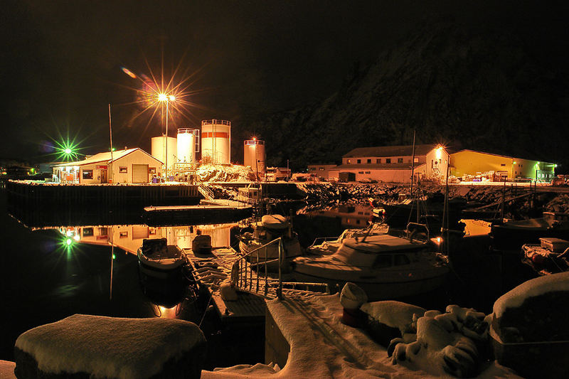 Svolvaer Hafentankstelle