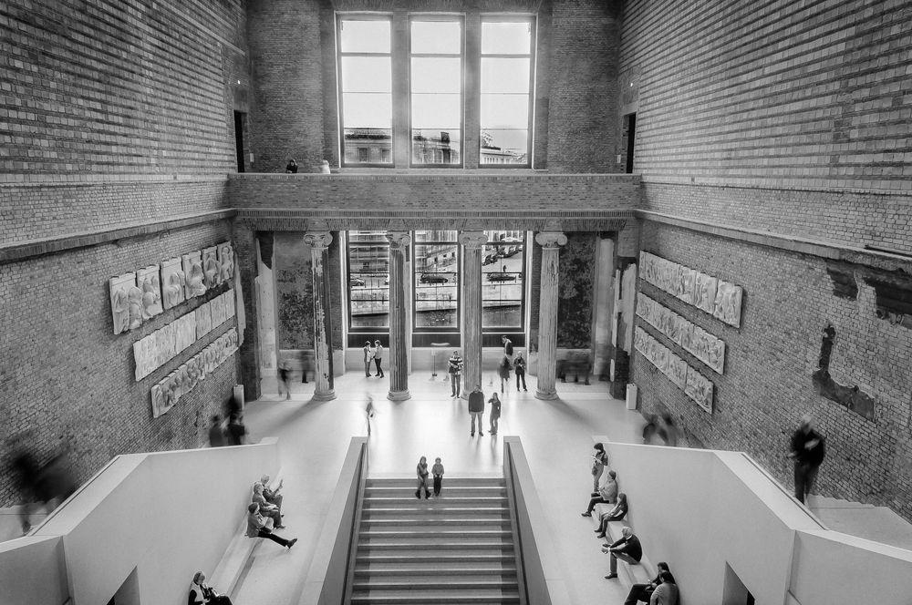 """S/W Challenge 1/5 """"Das neue Museum ..."""""""