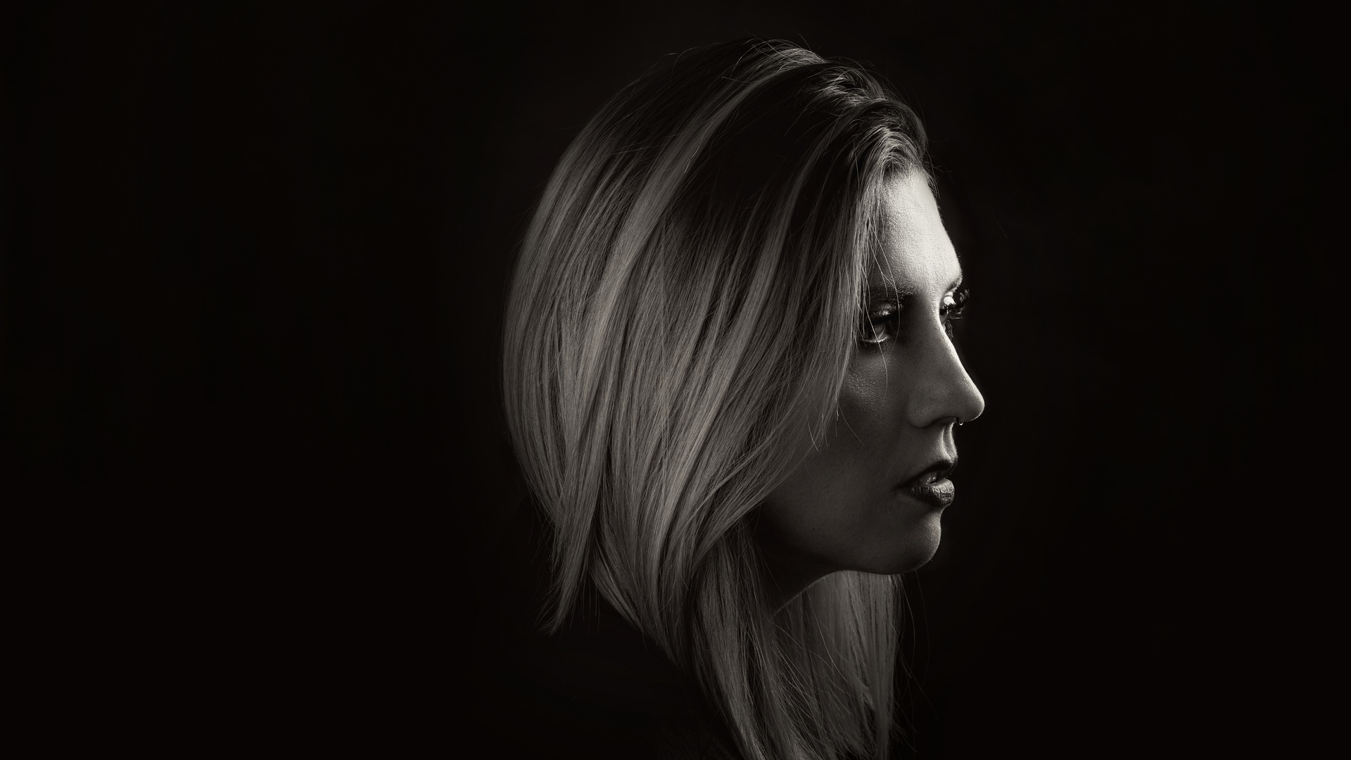 s/w-Portrait Julia