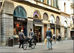 Swarovski a Firenze.