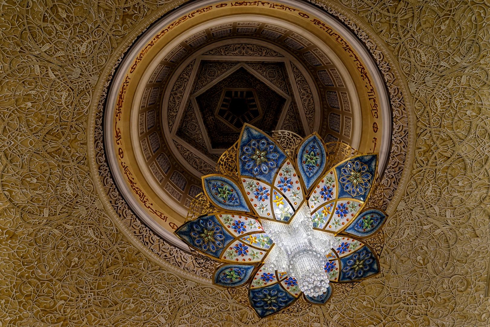 Swarovski-Kronleuchter-Abu-Dhabi-Moschee -