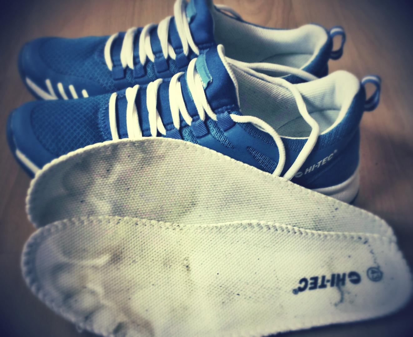 Sweaty Running Shoes