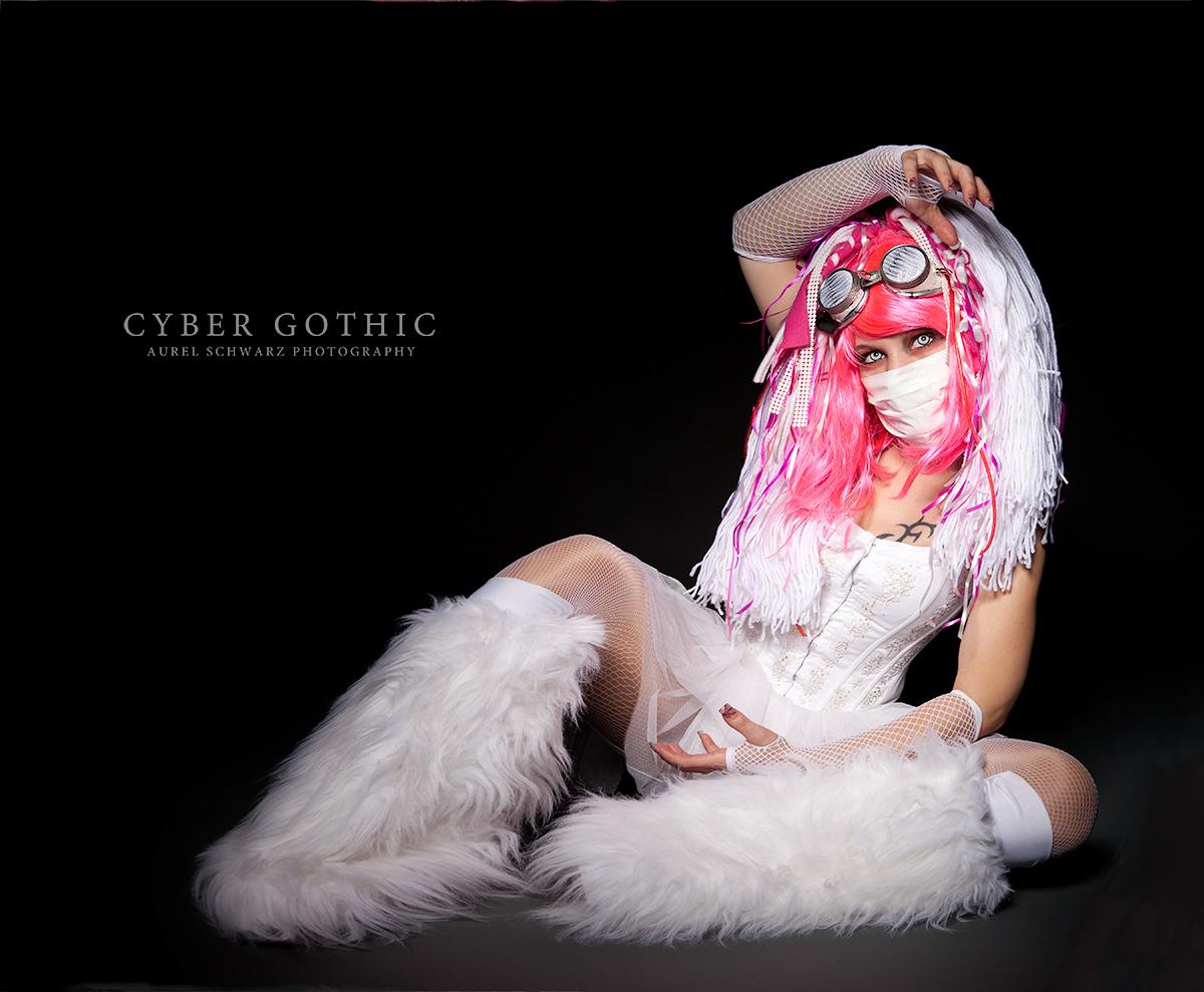 sweet white cyber