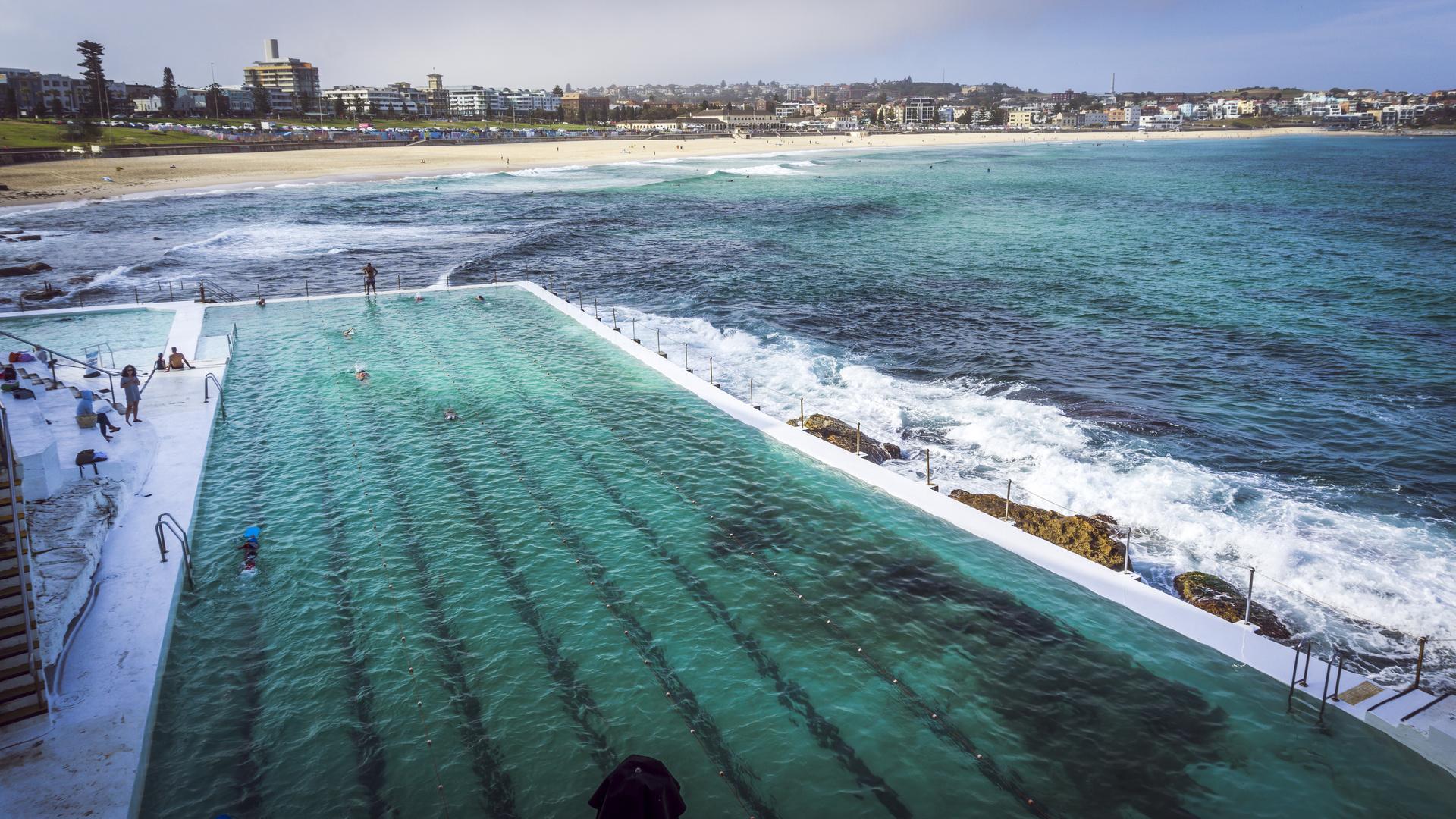 Swimmingpool Bondi Beach Sydney