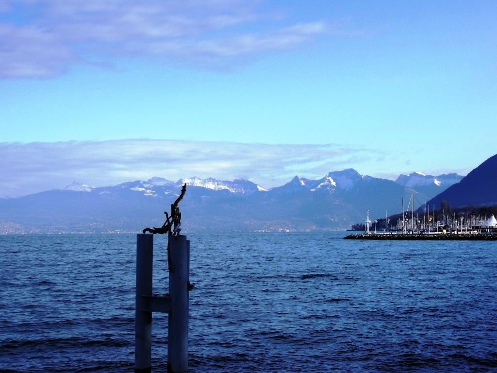 Swiss across the Water