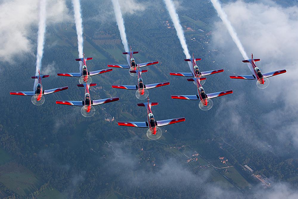 Swiss Air Force - PC-7 Team