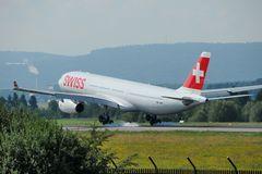 Swiss Airbus A330-343X HB-JHN