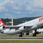 Swiss Airbus A340-313X HB-JMC
