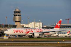 Swiss Boeing 777-300ER HB-JNA
