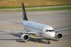 Swiss Star Alliance A 320