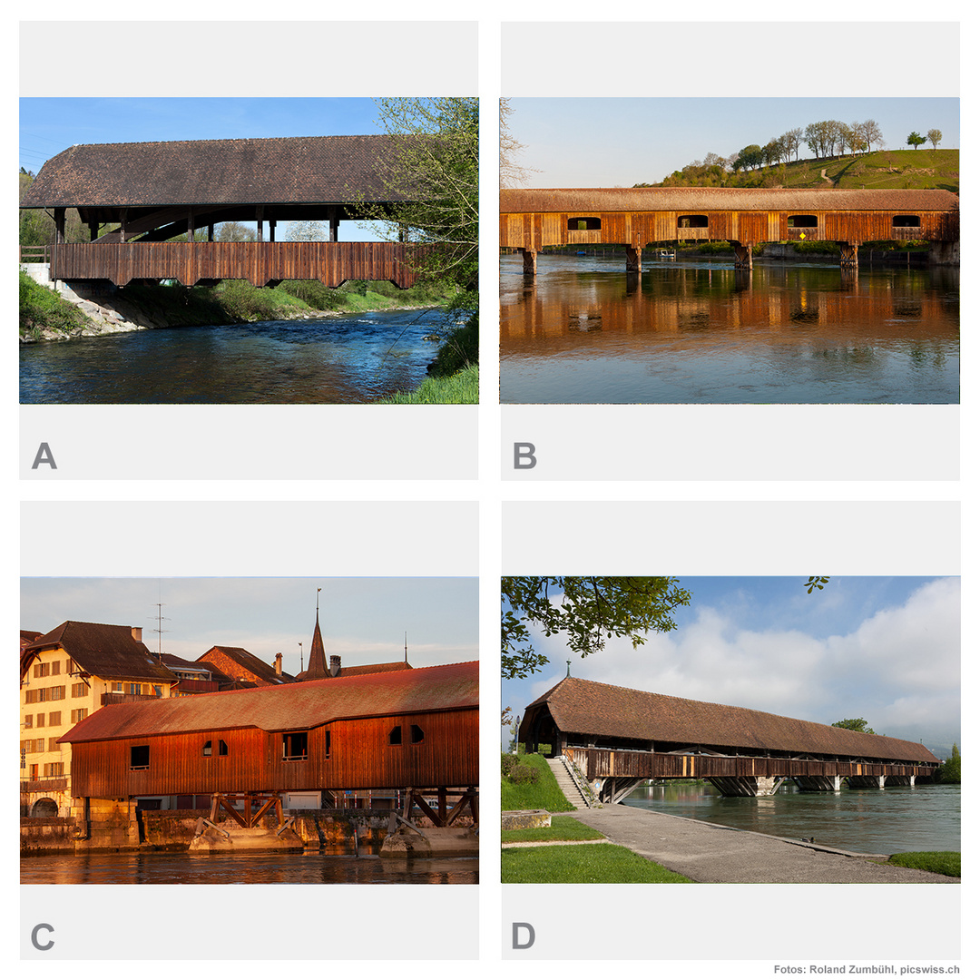 Switzquiz 8: Holzbrücken