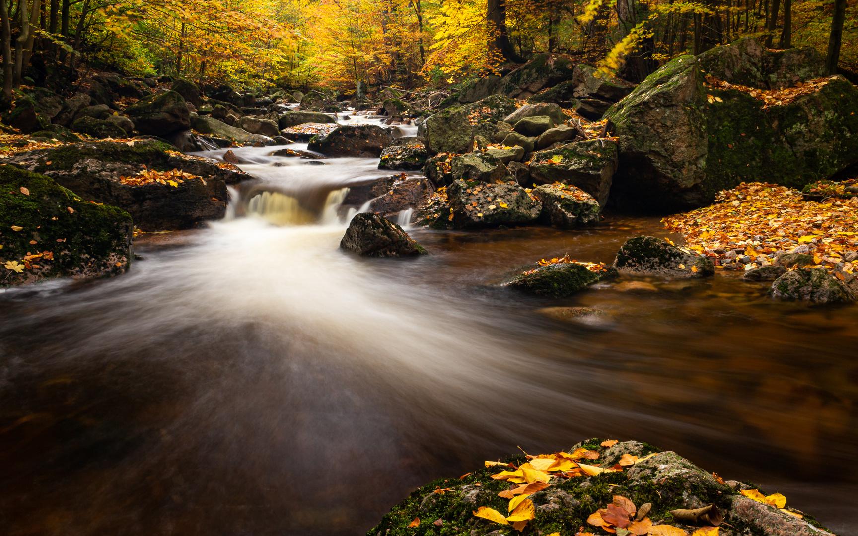 - swooshing waters -