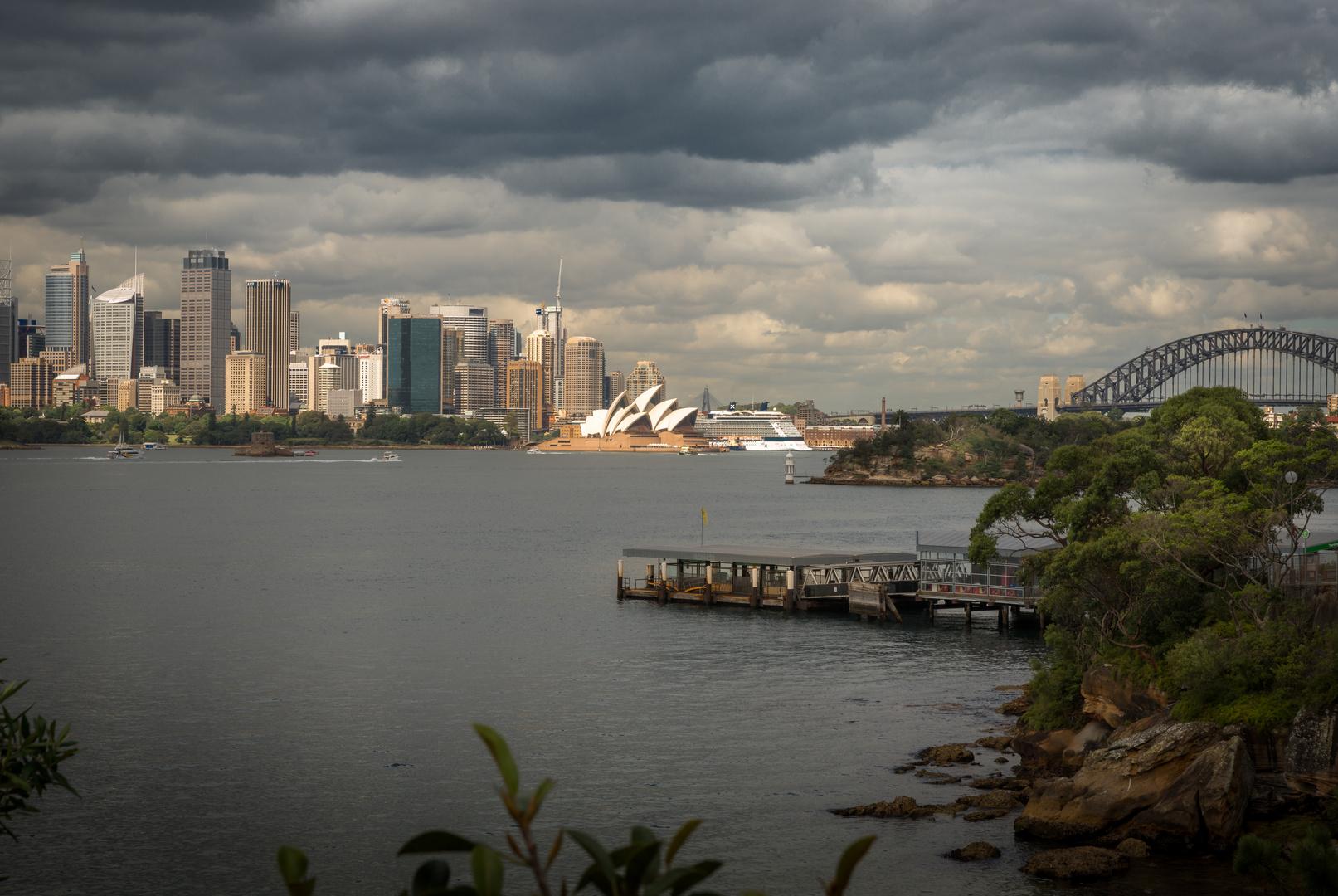 Sydney - Aussicht von Breadleys Head