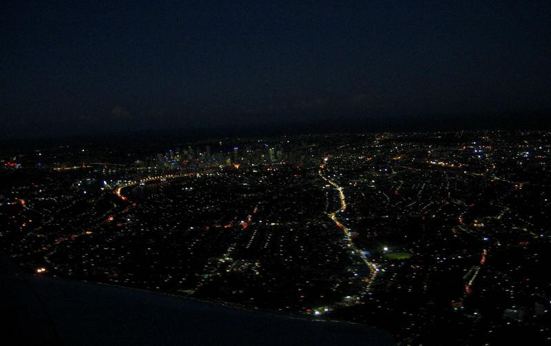 Sydney by night...