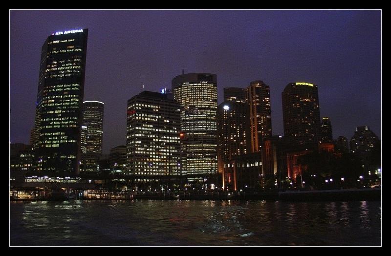 Sydney - Evening Harbour Cruise (III)
