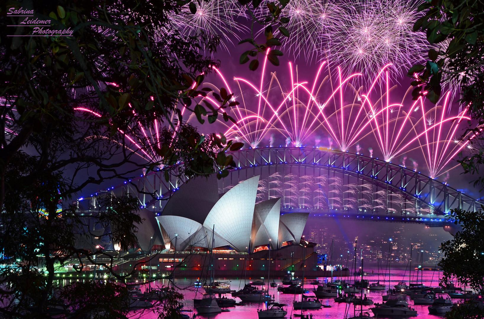 Sydney Silvester 20162017 Foto Bild Australia Oceania