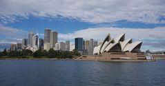 Sydney - Skyline mit Oper