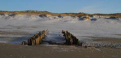 Sylt Buhnen am Westerländer Strand