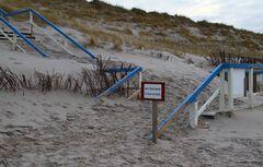 Sylt -Kein Winterdienst am Strand