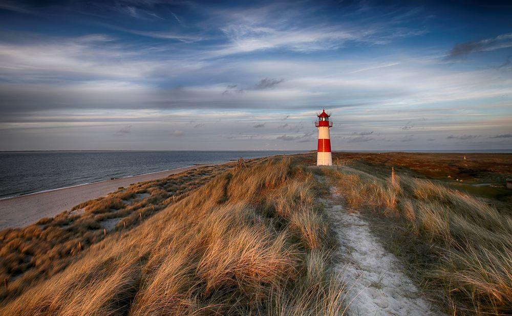 Sylt - Leuchtturm List Ost