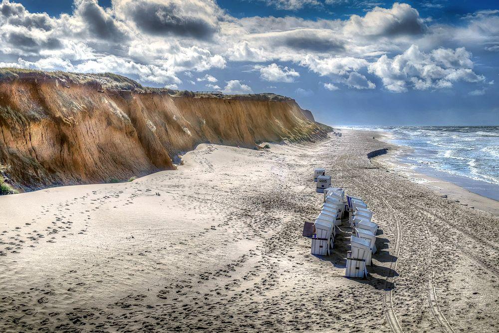 Sylt - Rotes Kliff bei Kampen