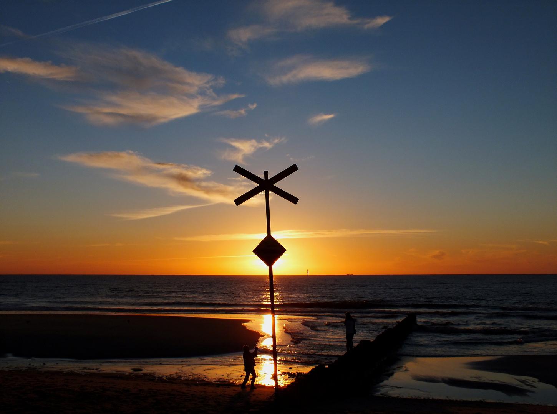 Sylt - Sonnenuntergang in Westerland