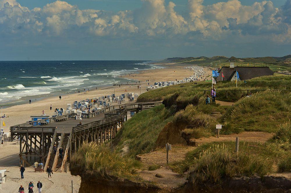 Sylt - Strand bei Kampen