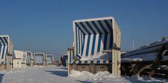 Sylt Strandkörbe am Kampener Strand