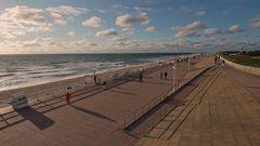 Sylt - Westerländer Strandpromenade